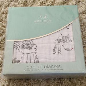 NWT Aden + Anais Stroller Blanket